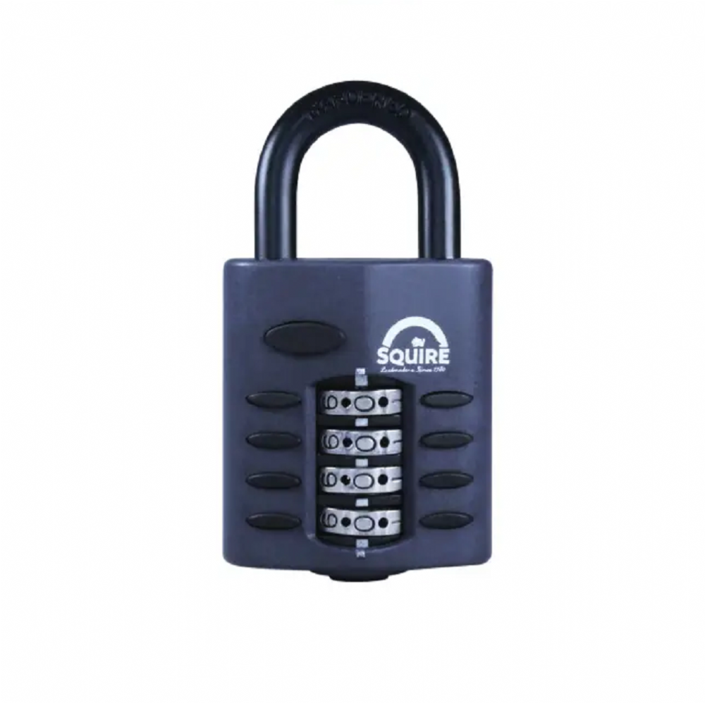 Squire CP40 Combination Padlock 4 Wheel 40mm